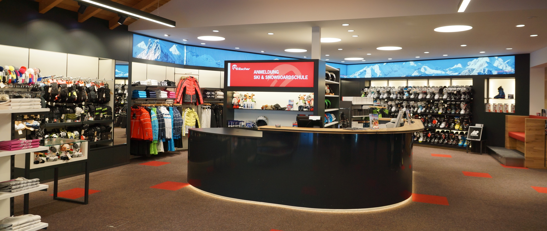 Shopeinrichtung und Shopmöbel