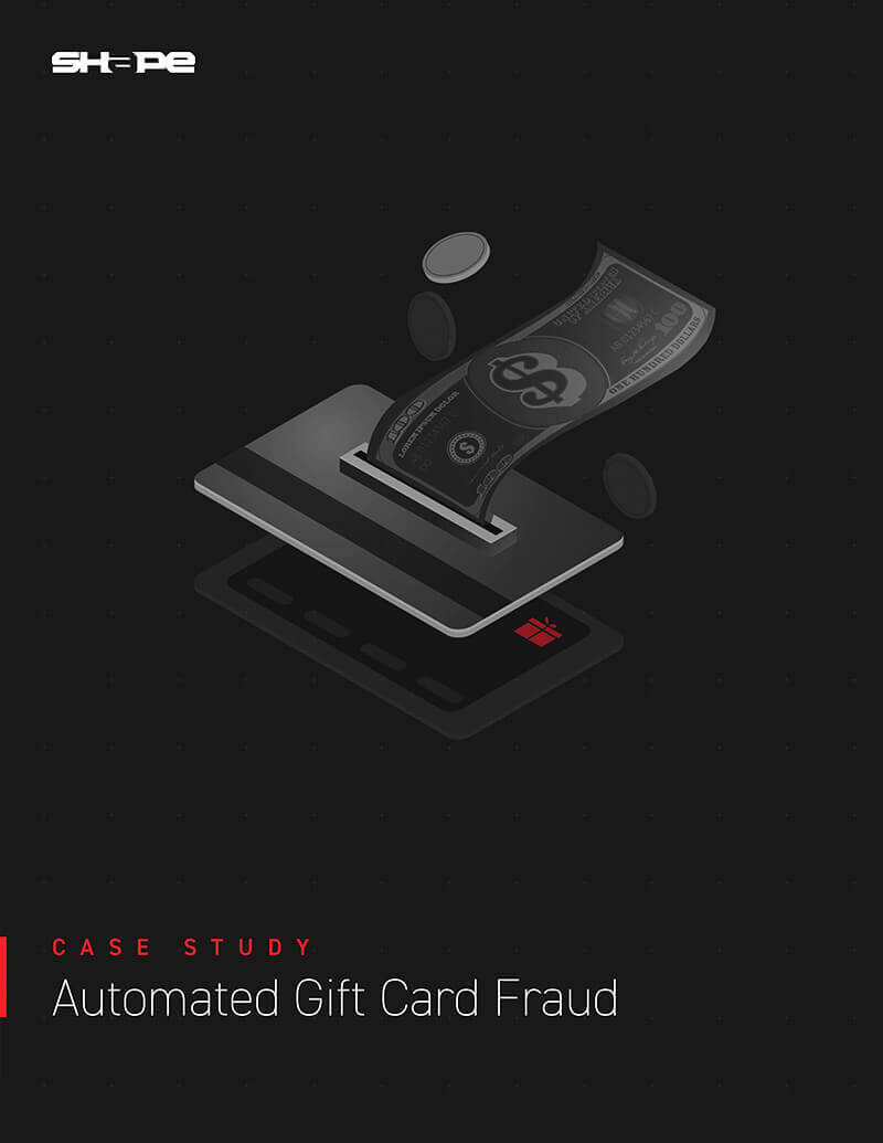 Automated Gift Card Fraud