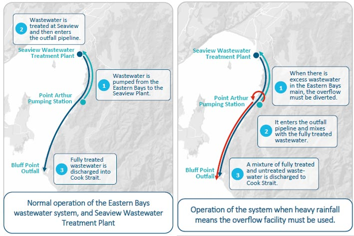 Bluff Point Wet Weather Discharges: Wellington Water Consent Renewal Consultation