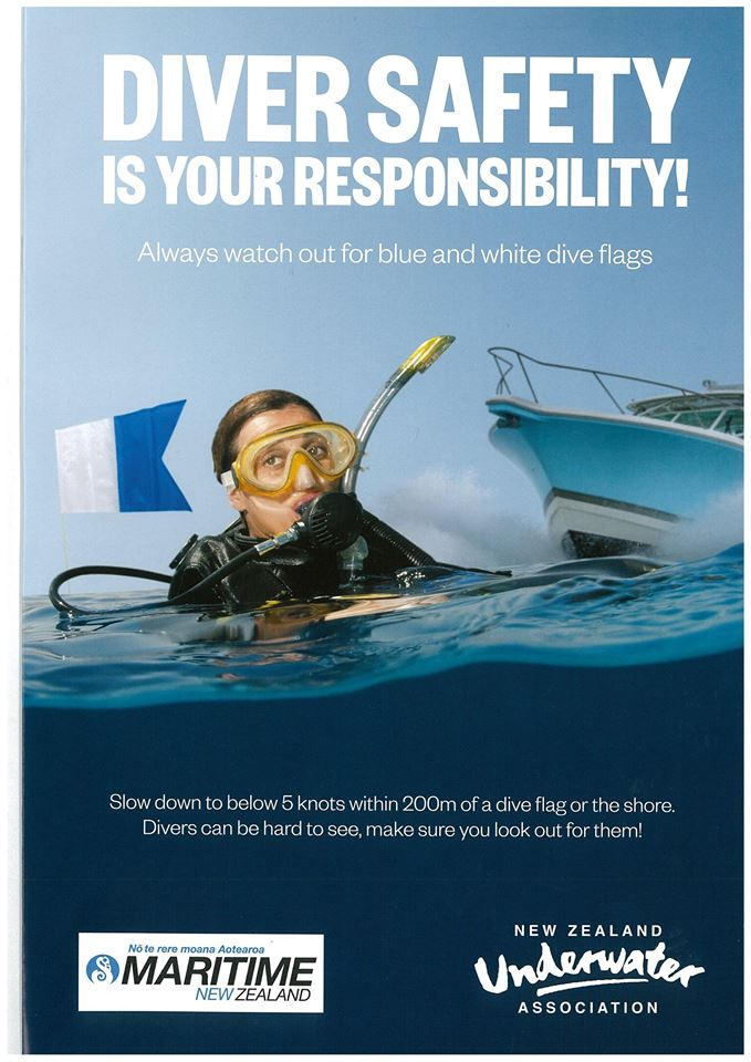 Dive Flag safety campaign