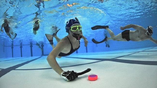 NZ World Underwater Hockey Champions!