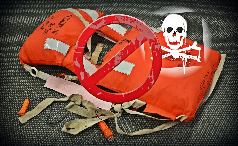 Check Your Lifejackets - Kapok Recall