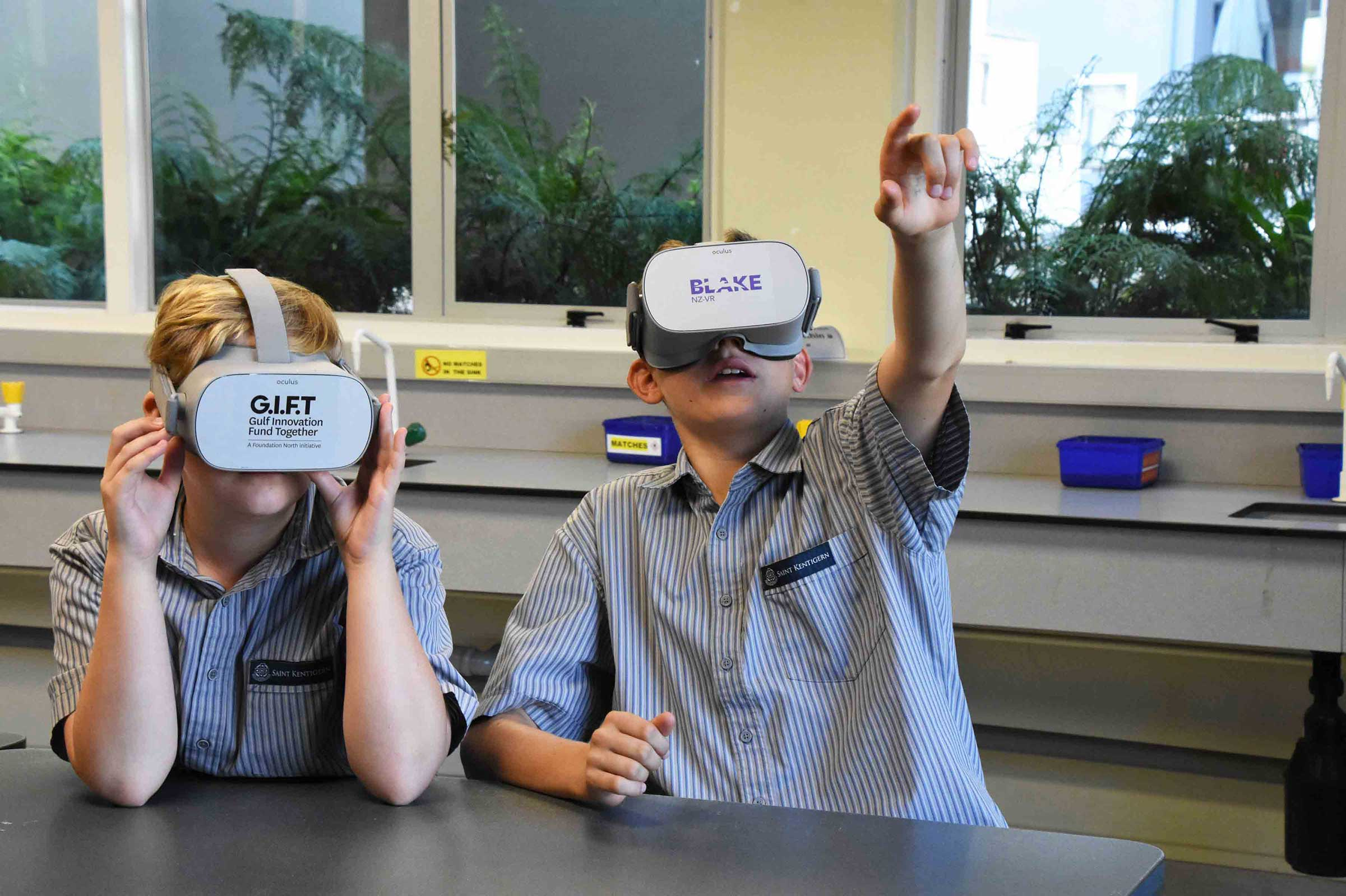 BLAKE NZ Virtual Reality Programme in Schools