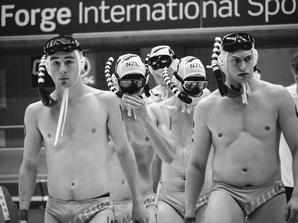 NZ underwater hockey mens