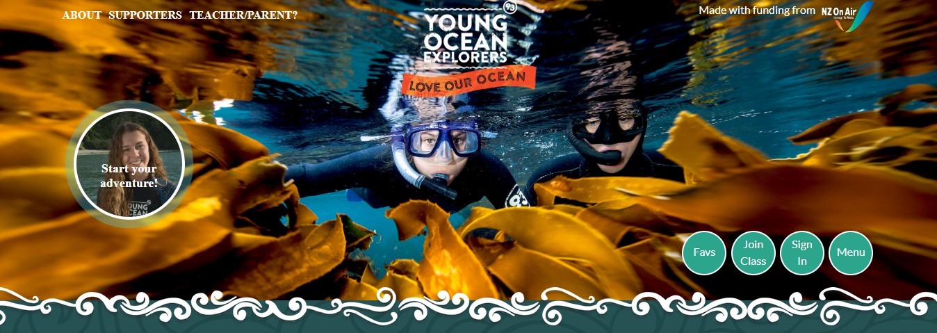 Young Ocean Explorers New Rangatahi series