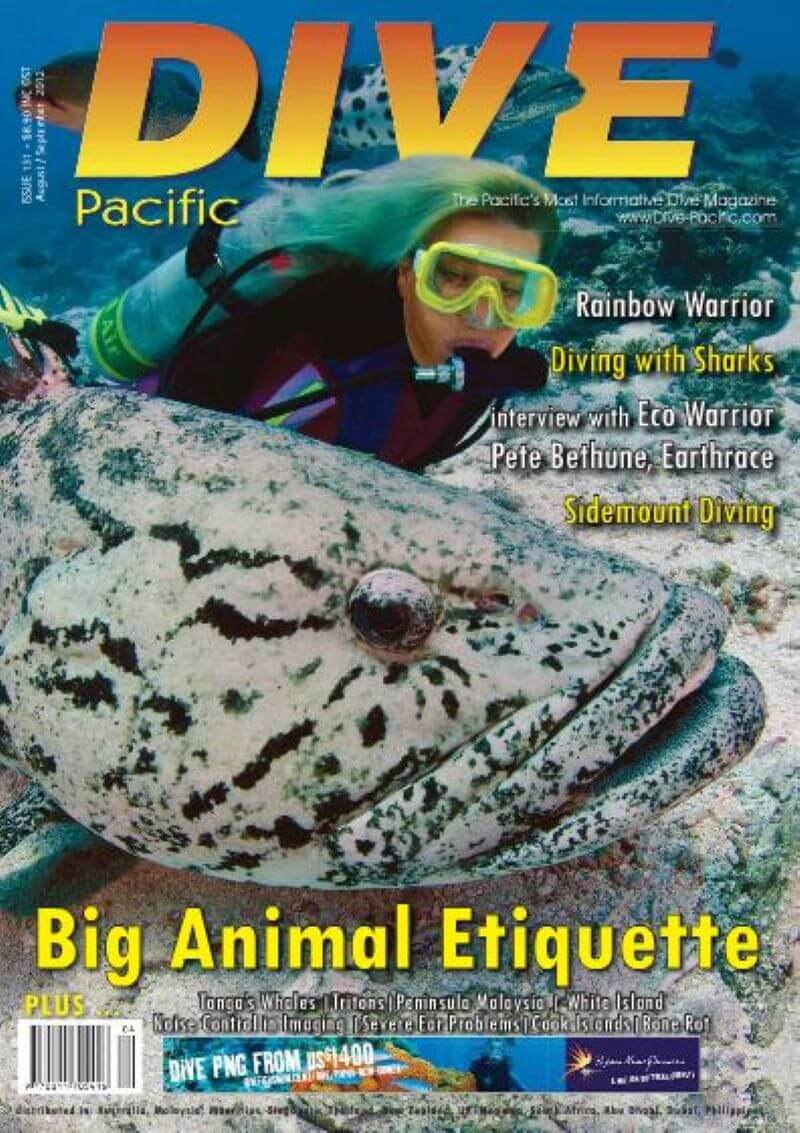 Image of Dive Pacific magazine cover