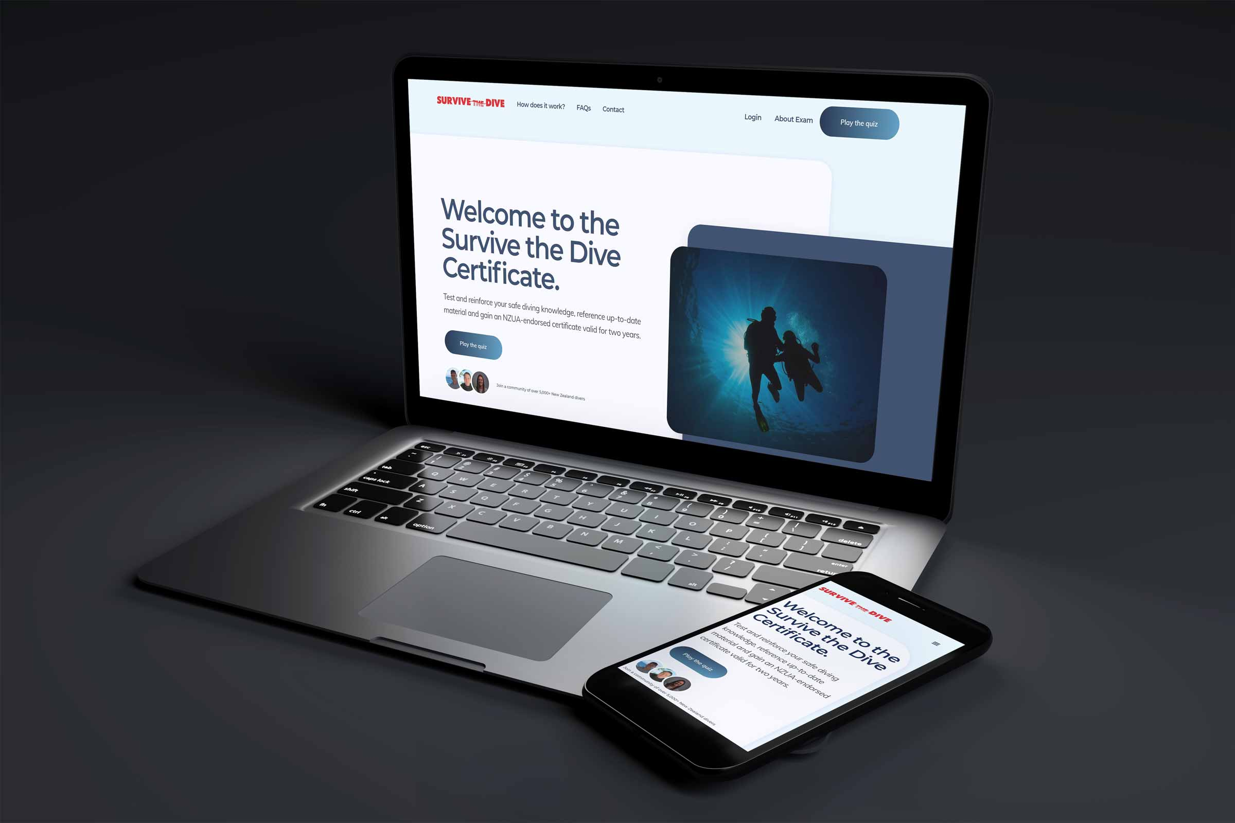 Survive the Dive certification launched