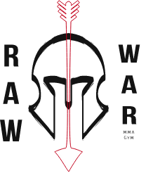 Raw War MMA Gym Logo