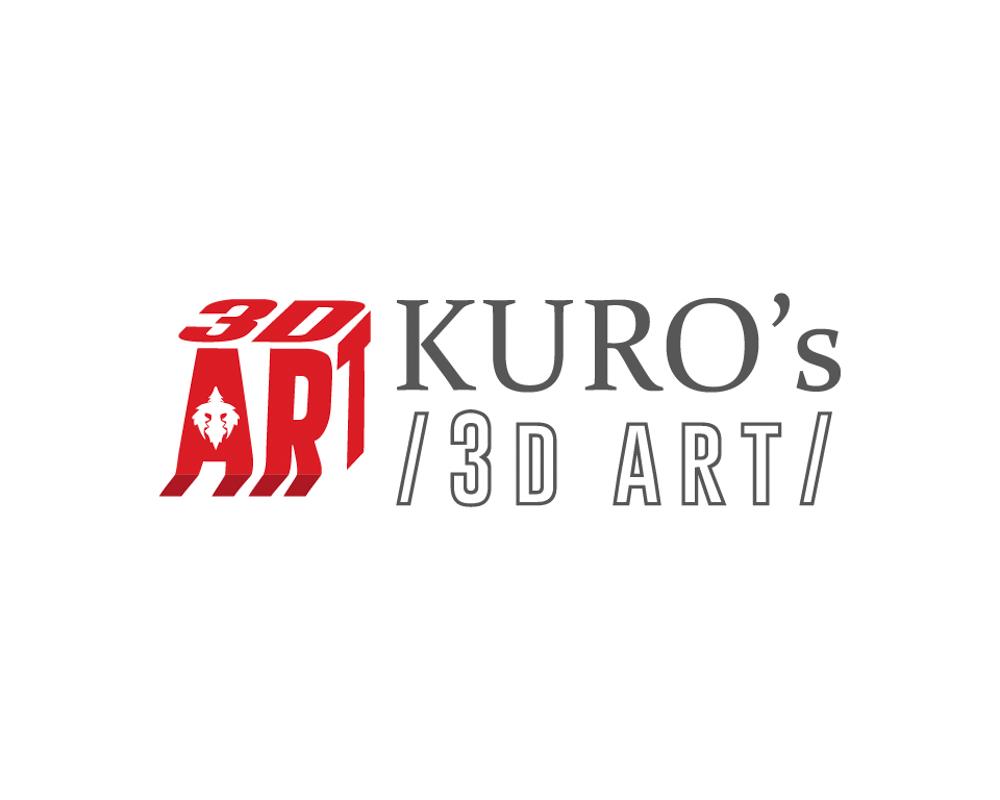 Logo Kuros 3d Art 3d artist