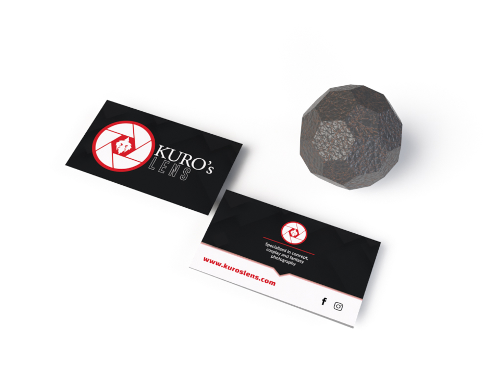 Business Cards Kuros 3D Artist