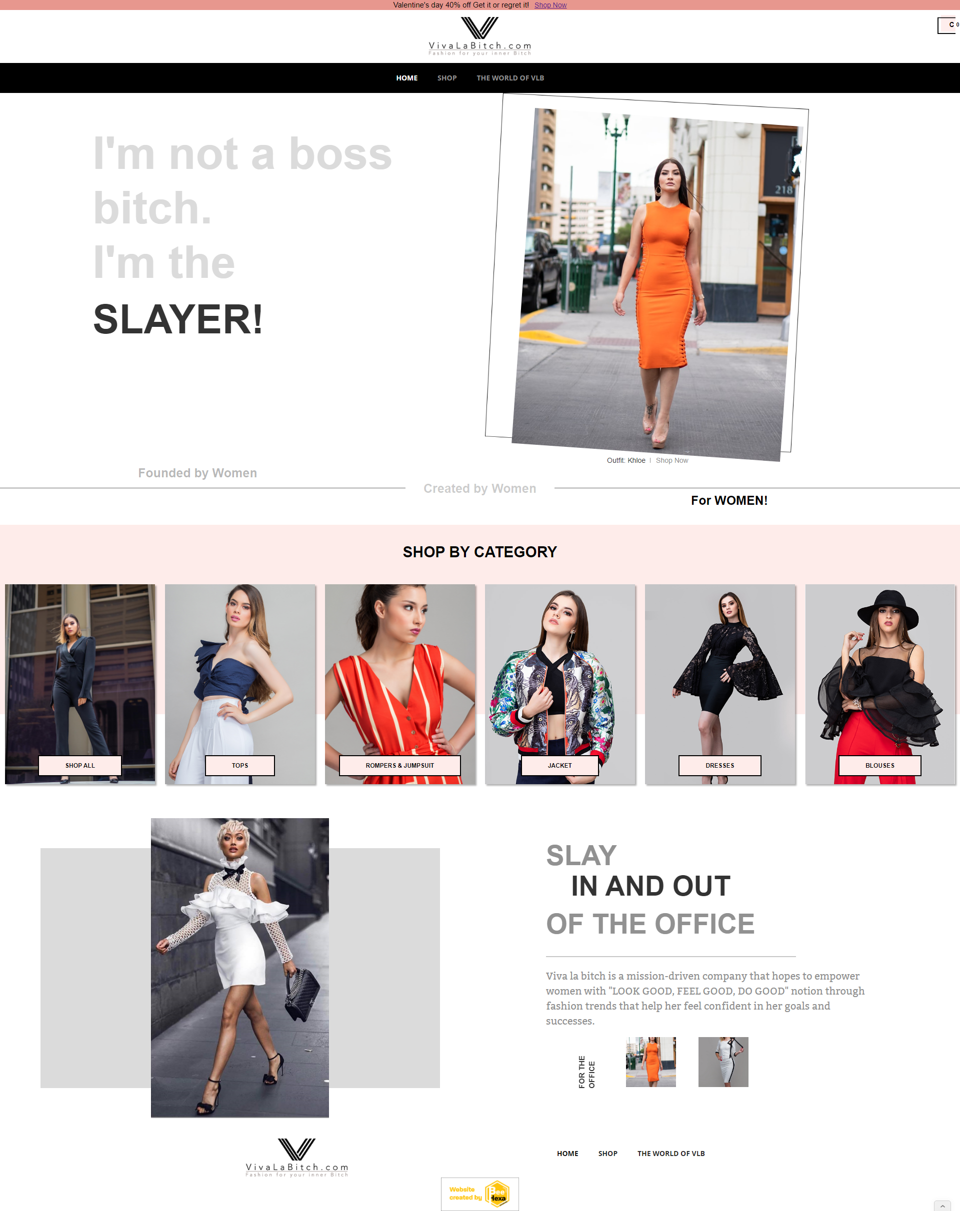 Ecommerce Fashion Web Design Showcase