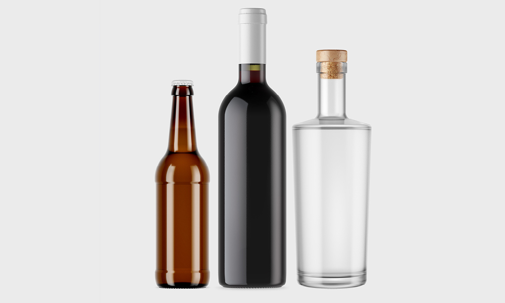 label printing for beers, wines & spirits market