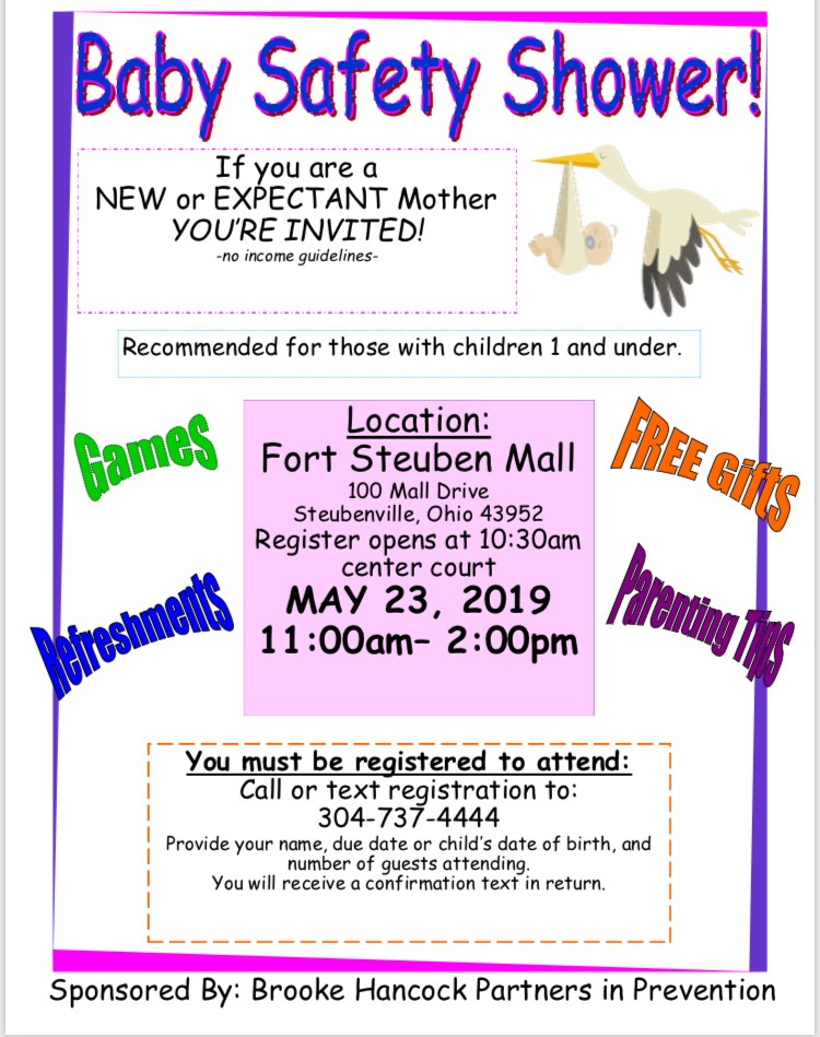 Baby Safety Shower event information