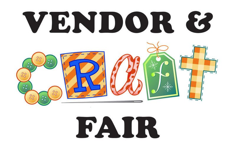 Vendor and craft fair event flyer