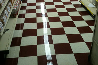 VCT floor care in Parma Heights