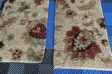 Area rug cleaning in Medina