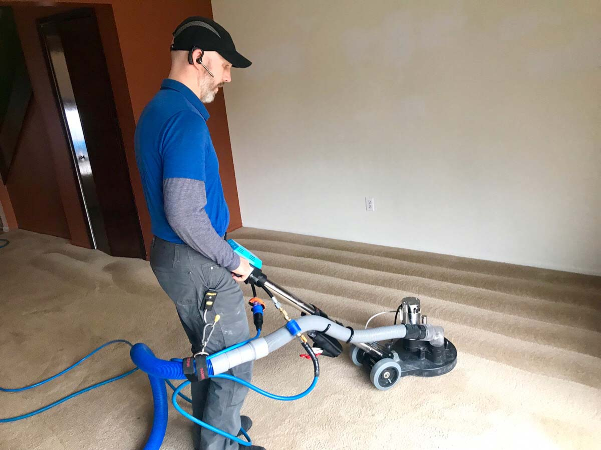 carpet cleaning project Hudson