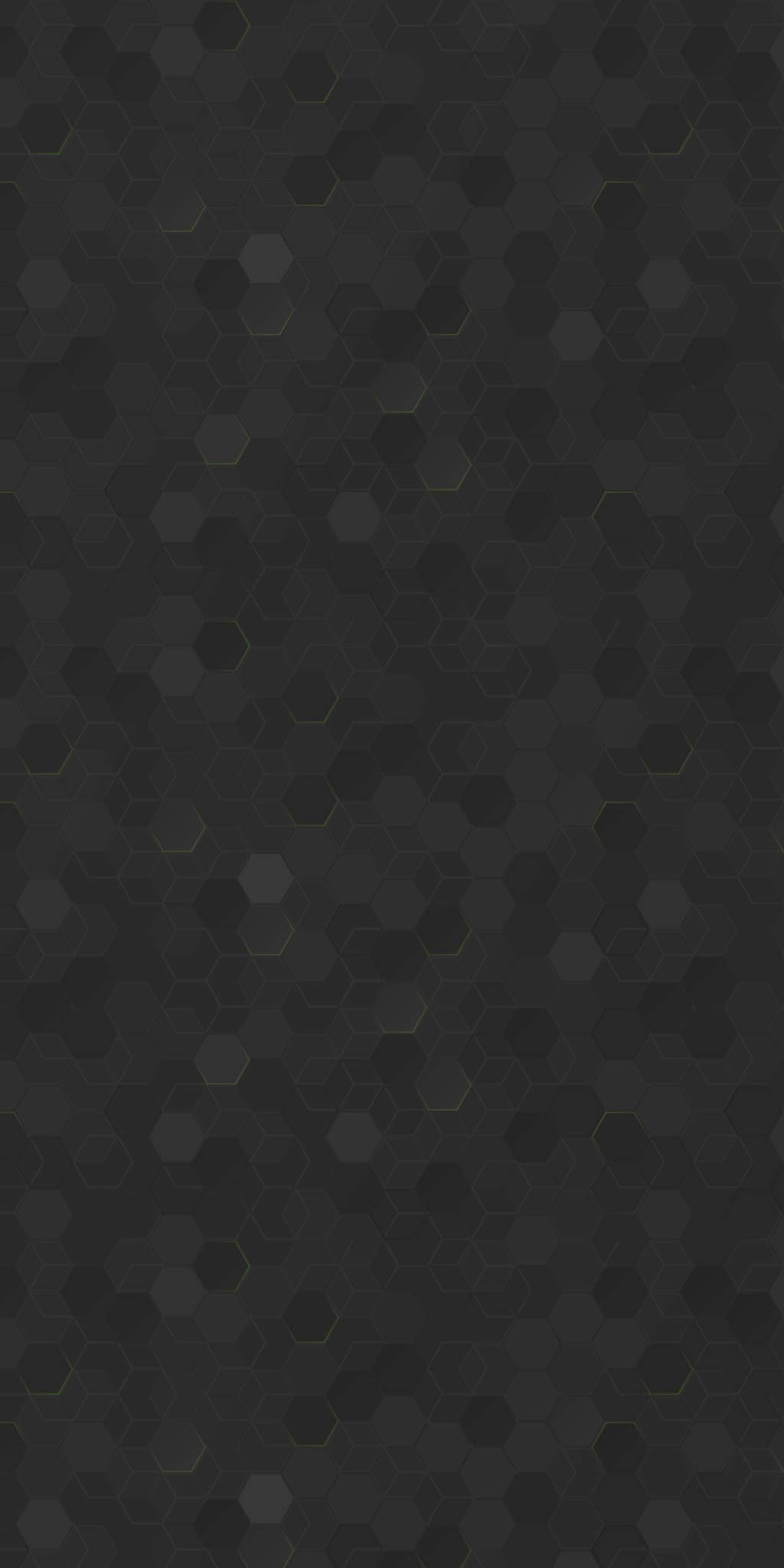 A dark-grey hexagon-patterned background.
