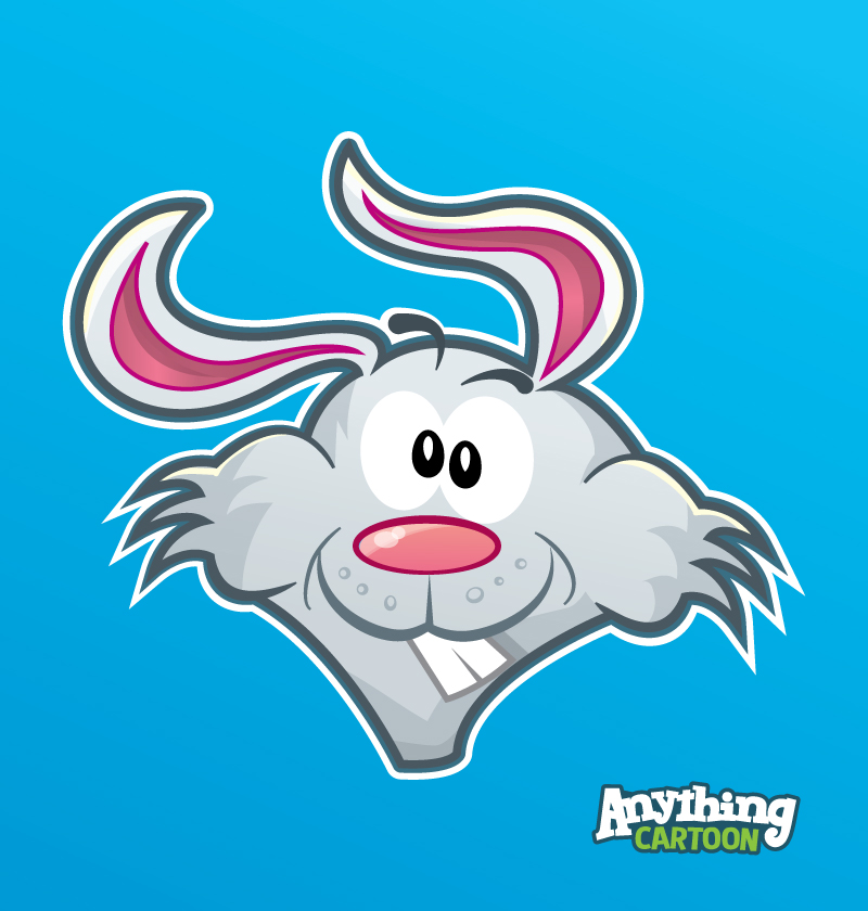Free Cartoon Rabbit Clipart Download