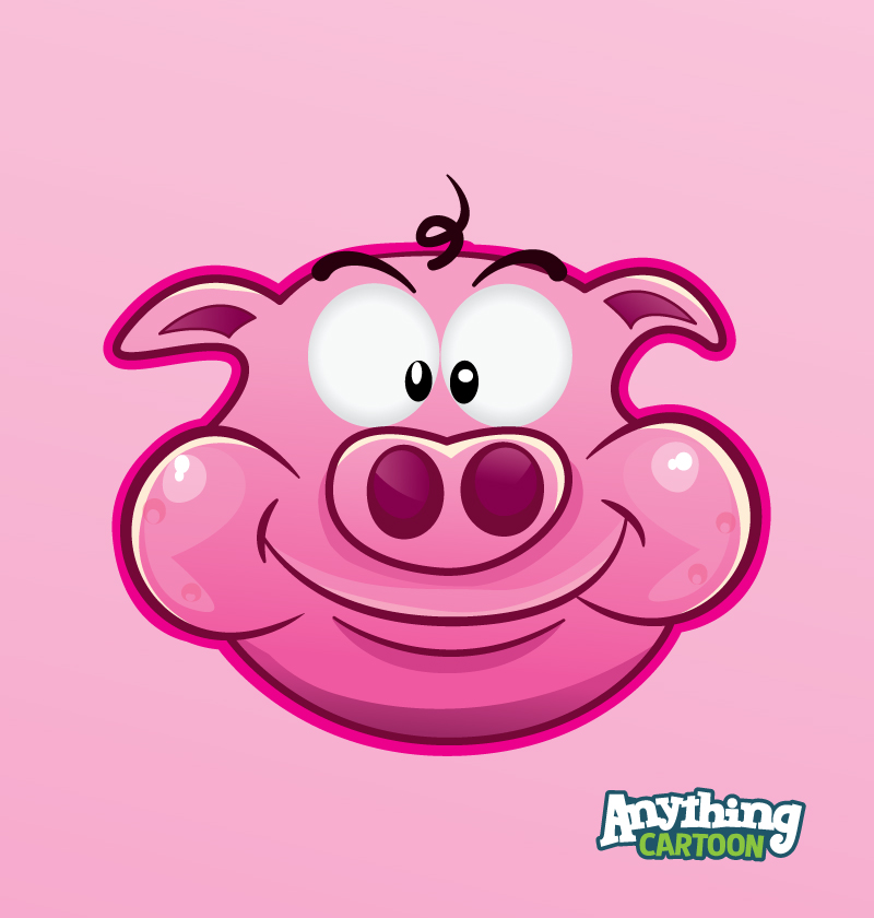 Free Pig Cartoon Clipart