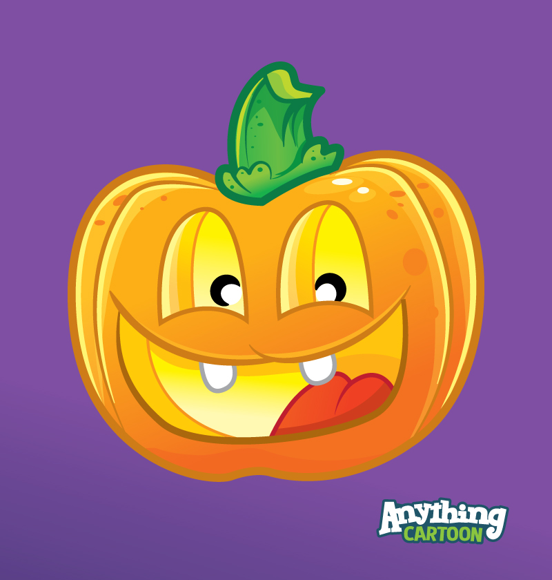 Free Jack-O-Lantern Cartoon Clipart