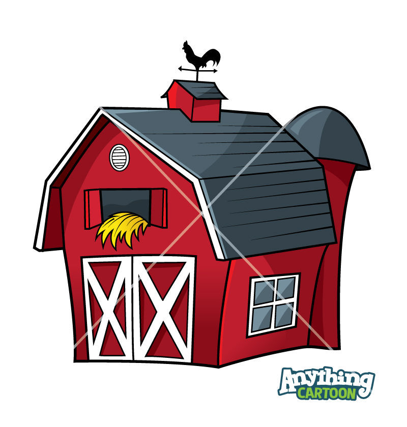 Cartoon Barn Clipart Images