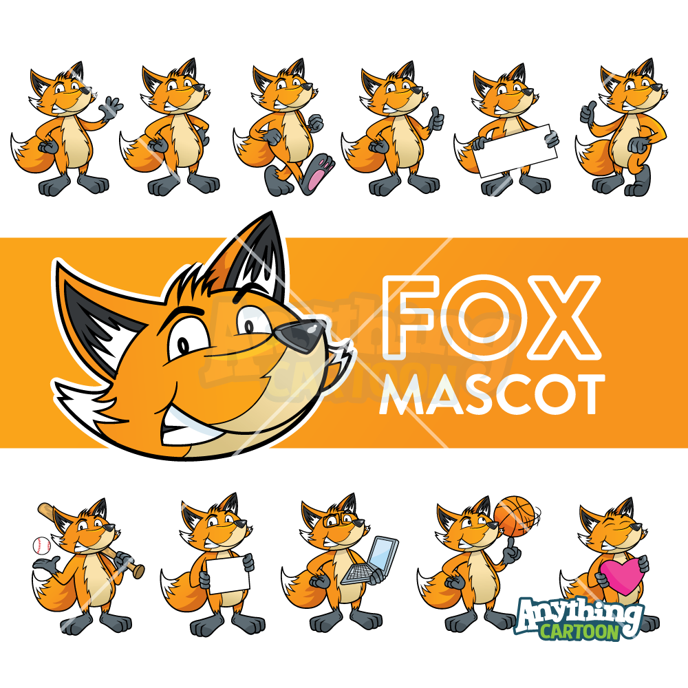 Cartoon Fox Clipart Anything Cartoon