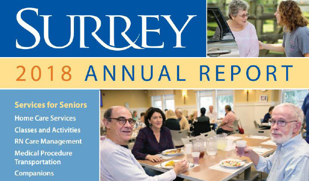 2018 Surrey Annual Report