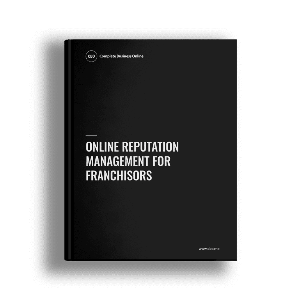 Online Reputation Management Franchisors