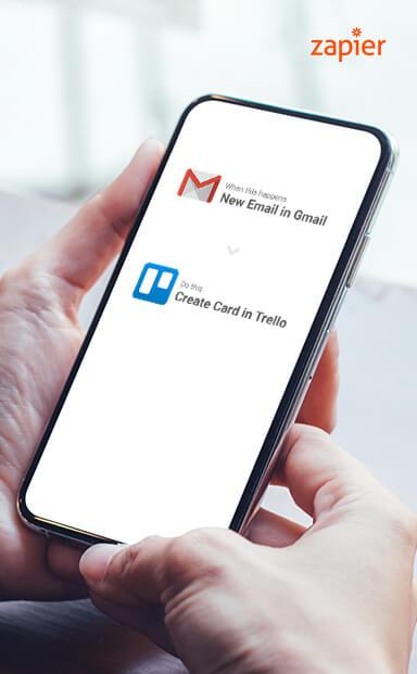 Automating Ideas Using Gmail & Trello In Zapier