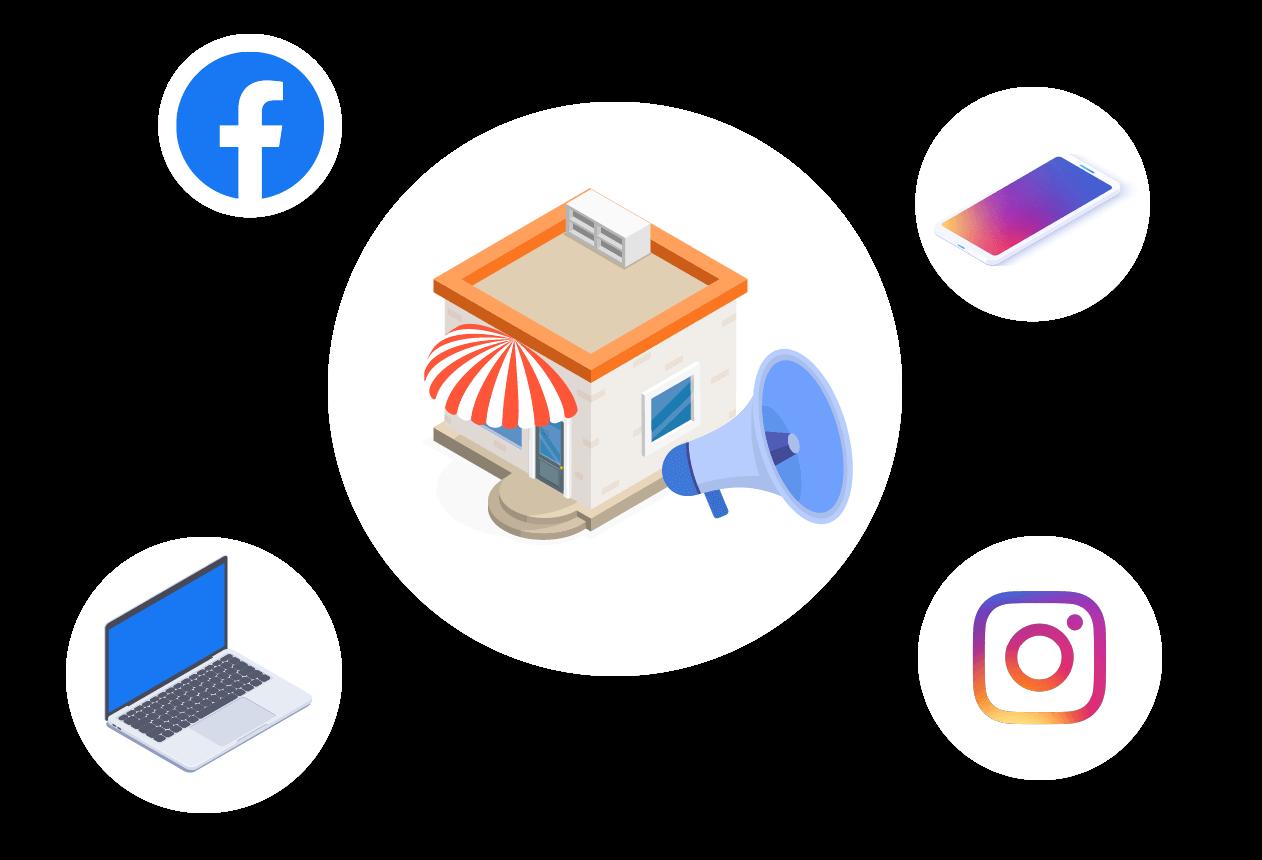 Local Area Facebook Instagram Advertising