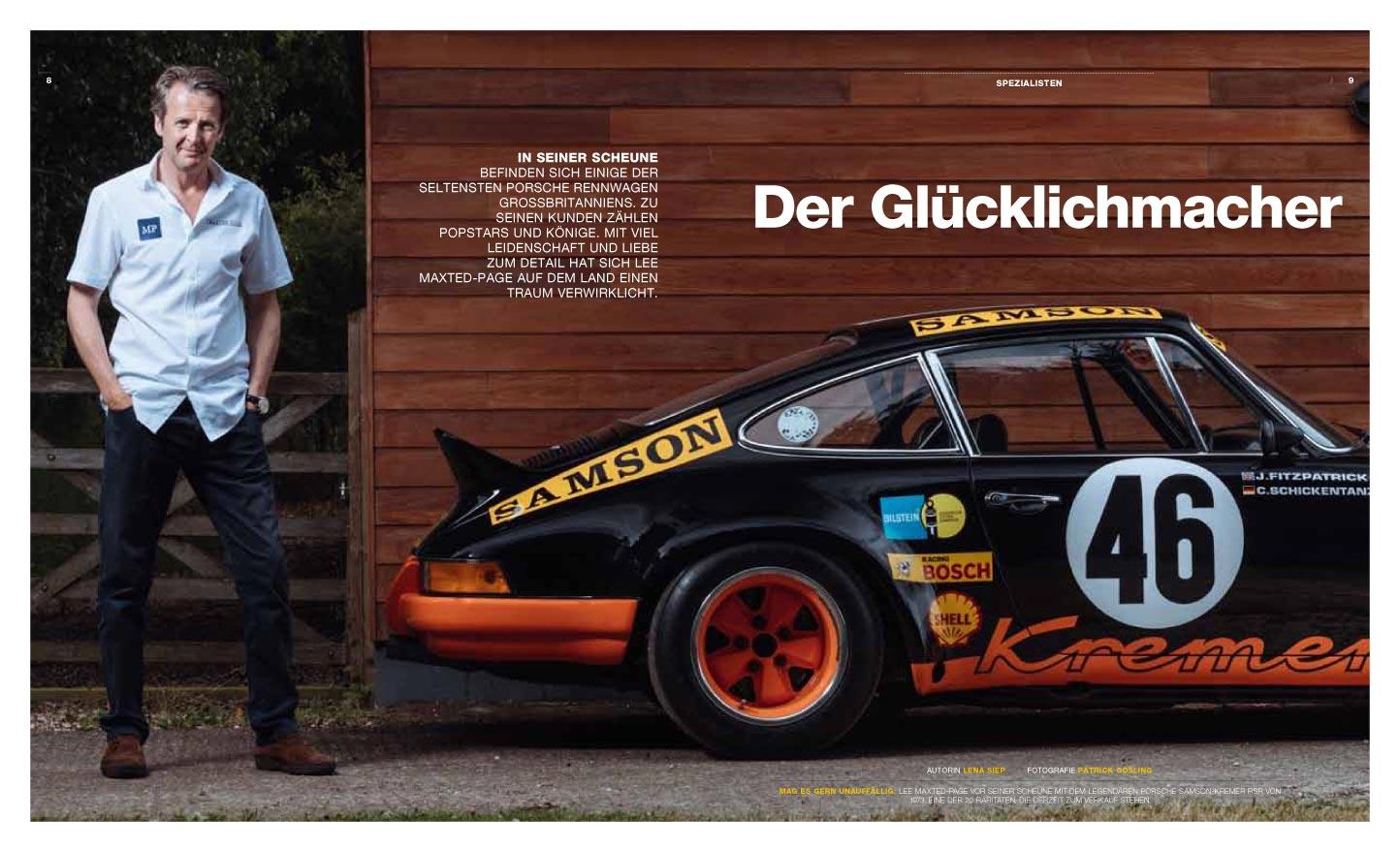 Porsche Classic visit Maxted-Page Porsche specialists
