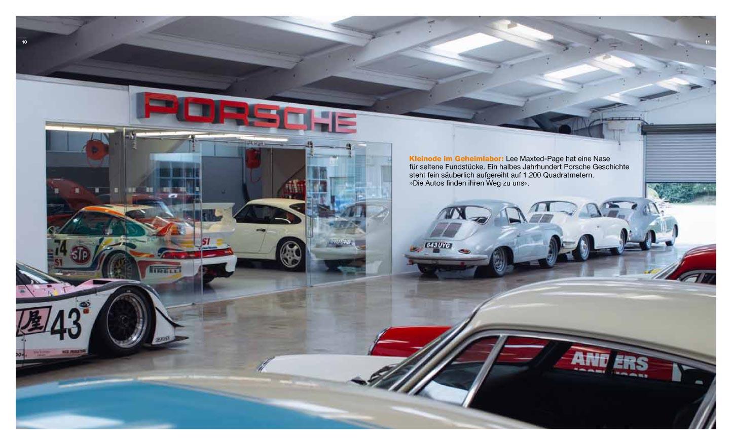 Porsche Classic visit Maxted-Page UK Porsche
