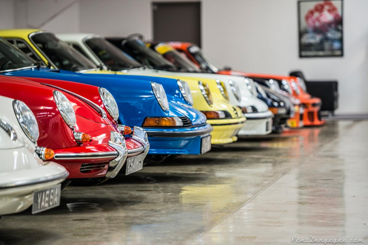 Even Porsche would envy Maxted-Page's treasure trove