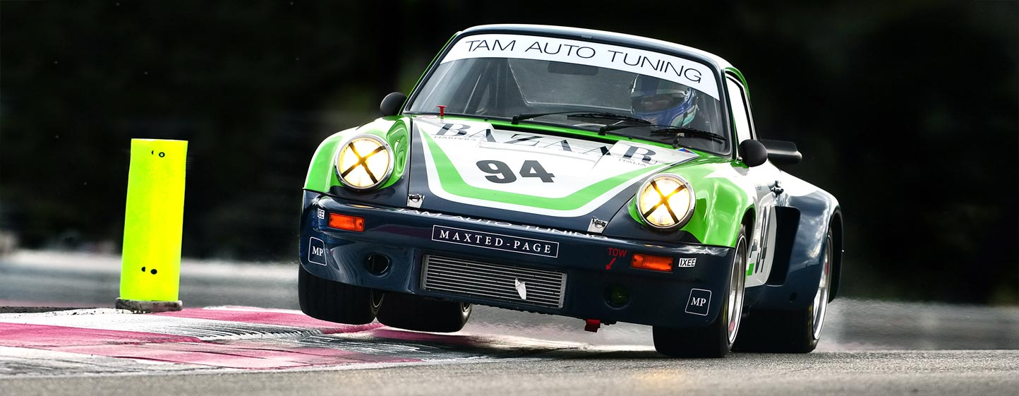 Ex-Giorgio Schön Porsche 3.0 RSR race return
