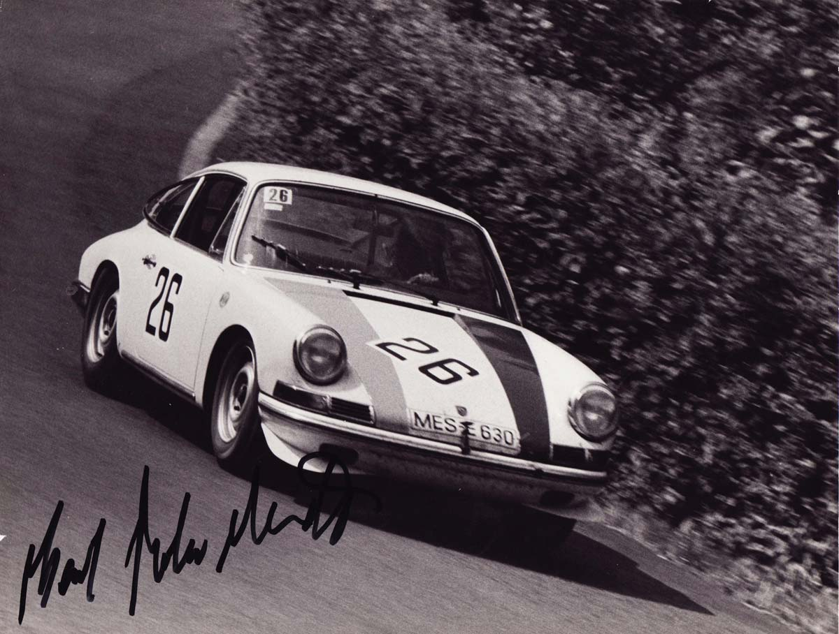 The Baron Karl von Wendt - 1966 Porsche 911 Coupe — Maxted-Page historic Porsche racing specialists