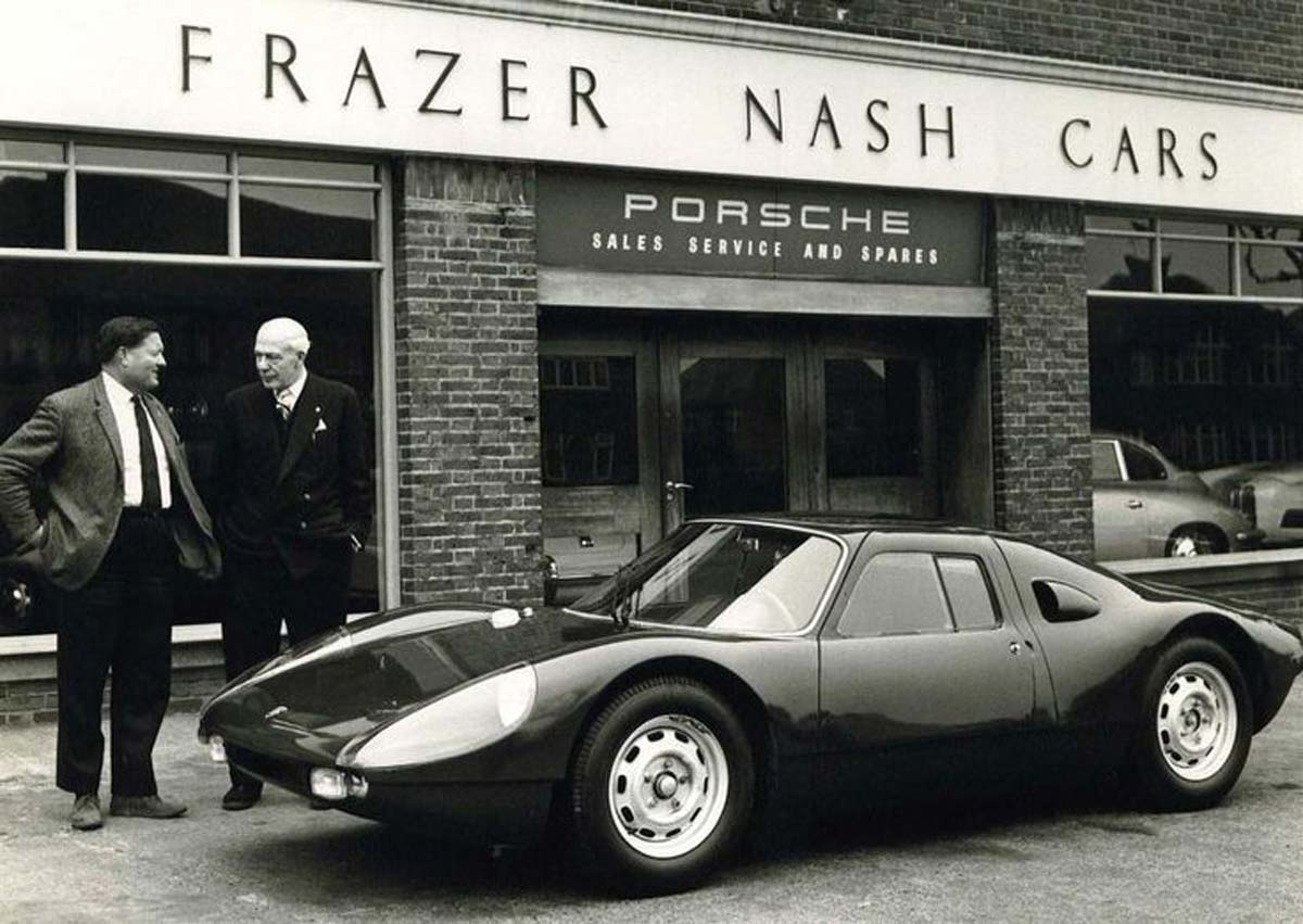 Dickie Stoop Porsche 904 — Maxted-Page historic Porsche specialists