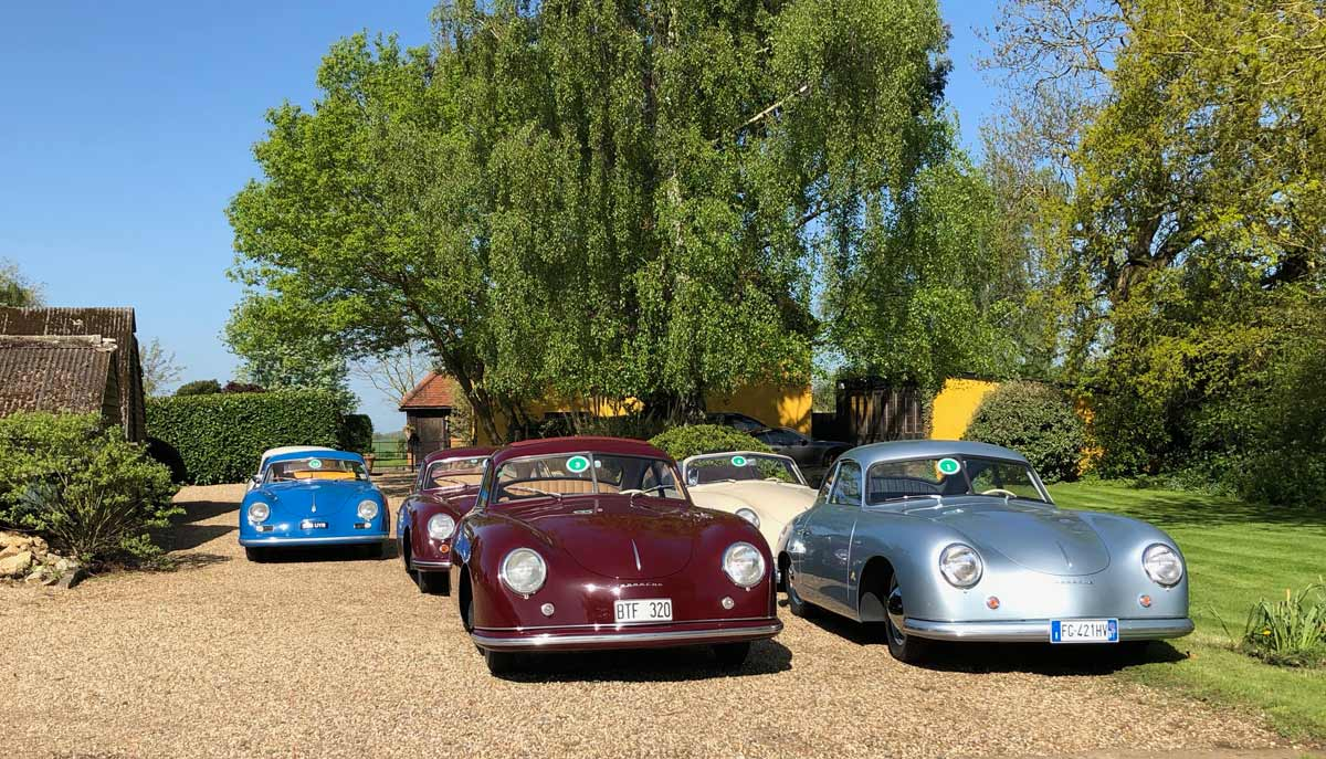 The 43rd 356 International Meeting 2018 — Maxted-Page fine historic Porsche