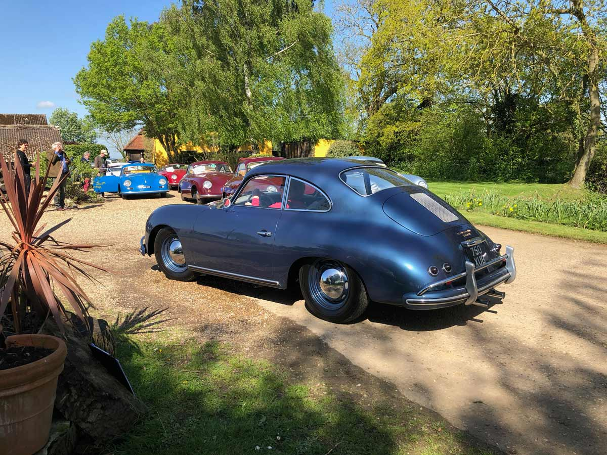 43rd 356 Porsche International Meeting 2018 — Maxted-Page fine historic Porsche specialists