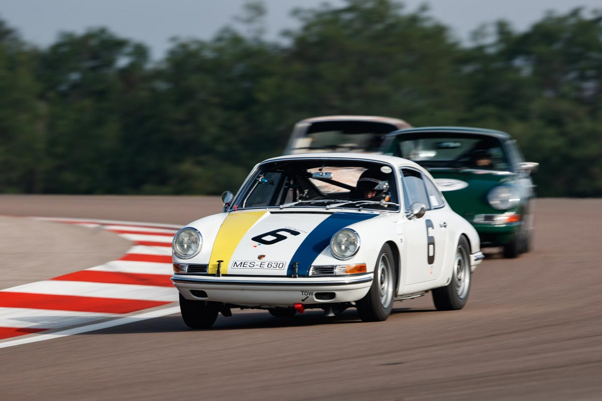 The ex Baron Karl von Wendt - 1966 Porsche 911 Coupe — Maxted-Page historic Porsche racing specialists
