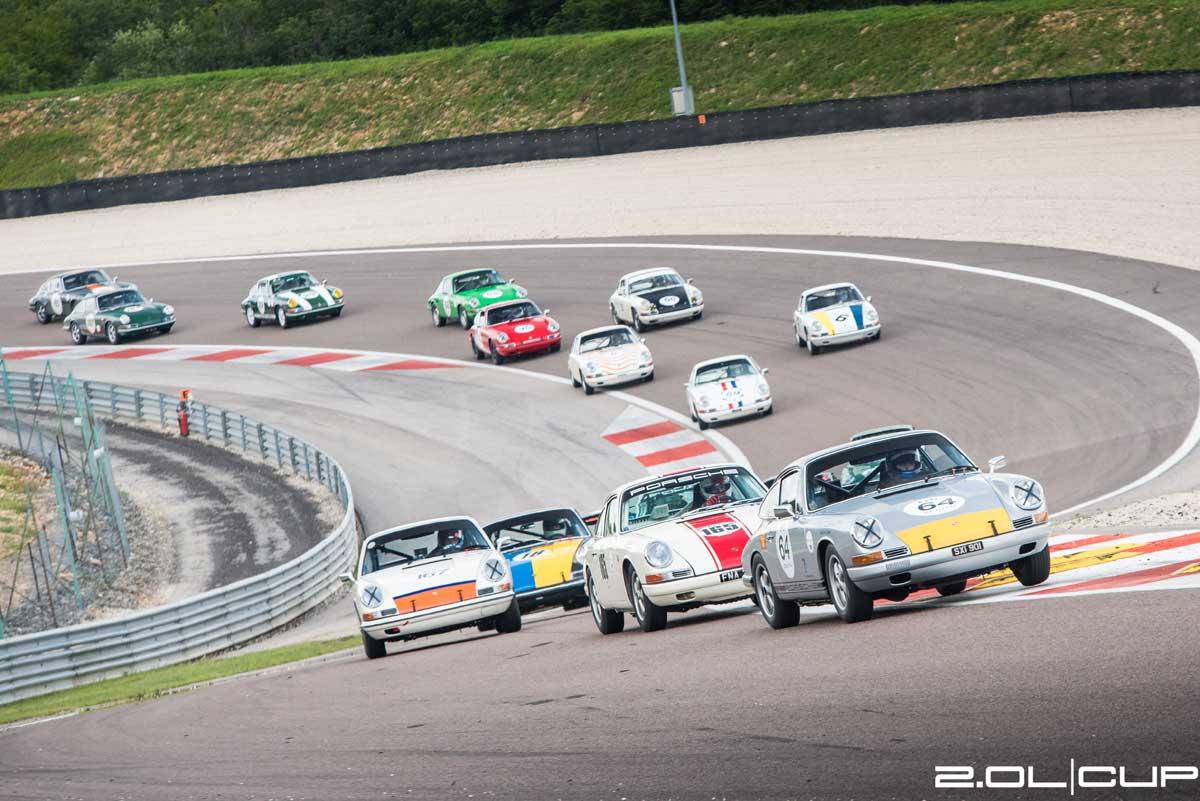 2.0 Litre Cup 2018 — Spa - Dijon-Prenois - Paul Ricard — Maxted-Page historic Porsche