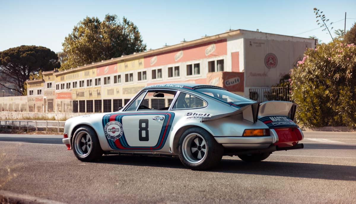 1973 Targa Florio winning Martini Racing Porsche Carrera RSR (R6)
