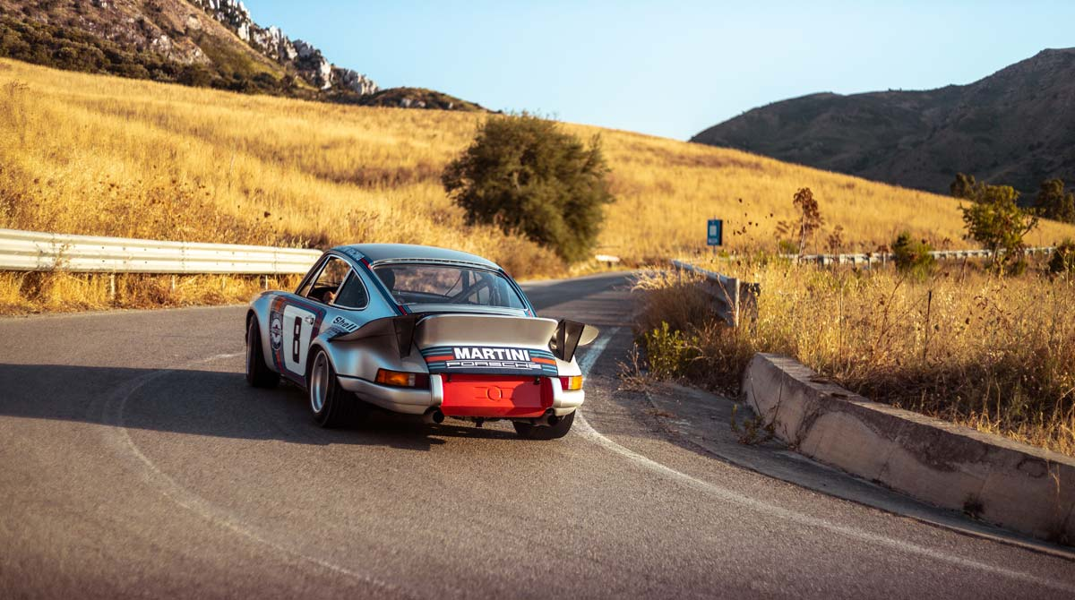 Restored 1973 Targa Florio winning Martini Racing Porsche Carrera RSR (R6)