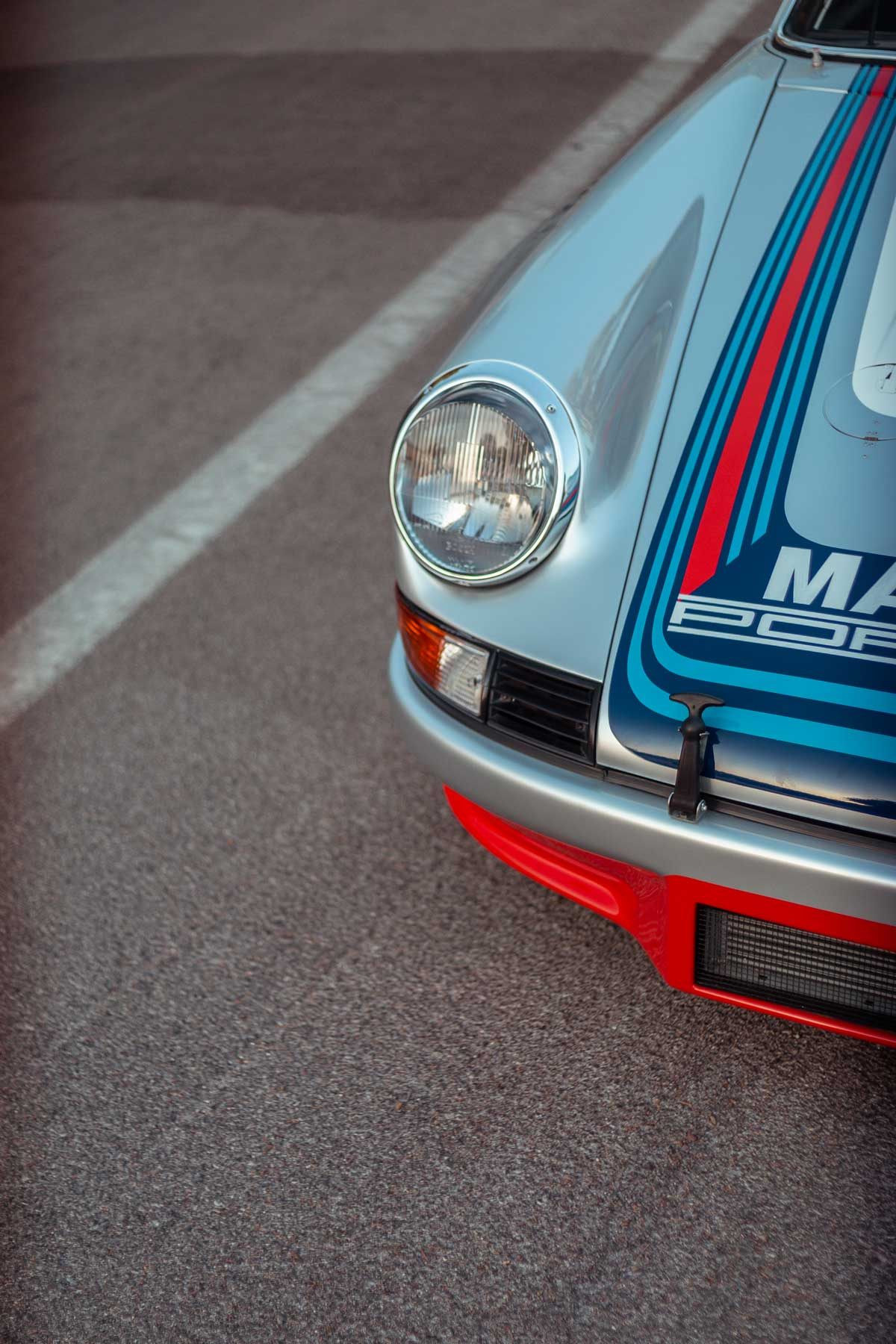 1973 Targa Florio winning Martini Racing Porsche Carrera RSR (R6) restoration by Maxted-Page