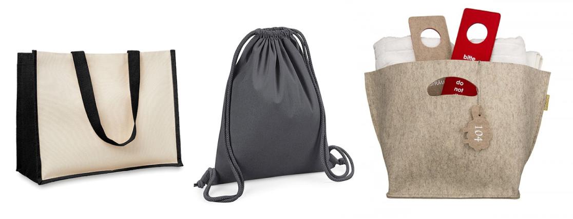 Promocijske torbe iz naravnih materialov