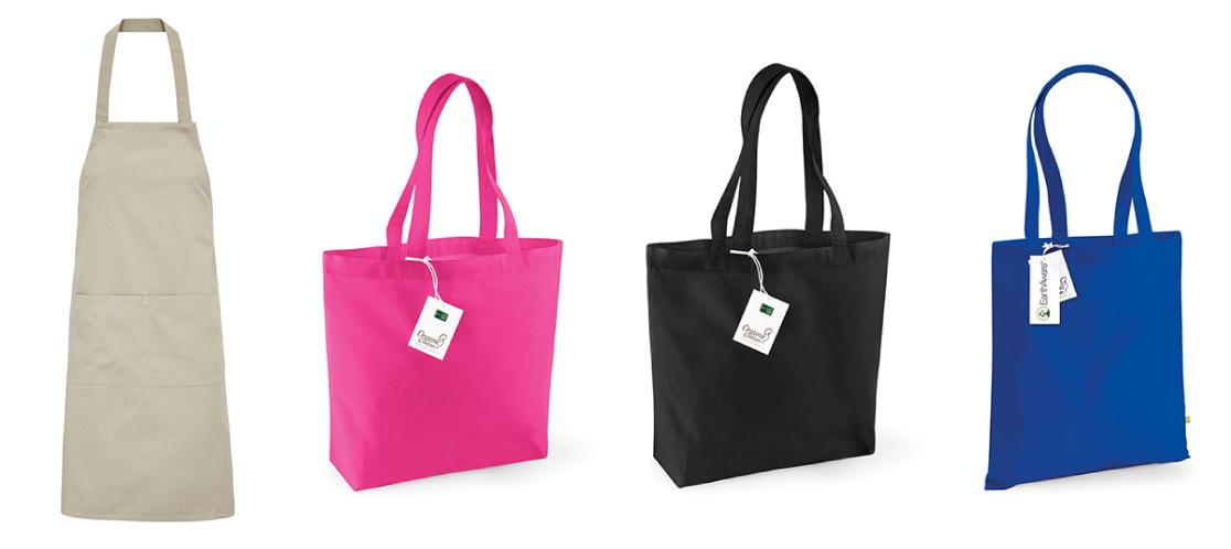 promocijska darila torbe iz organskega bombaža