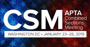 APTA CSM Conference