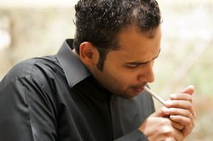 arab smoking