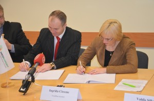 latvia partnership