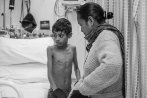 Jeca Periera, an 11-year-old East Timorese boy, traveled to Melbourne in September to repair the damaged vales in his heart that left him breathless, dangerously underweight and unable to attend school.